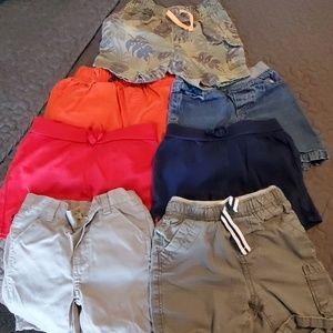 Boys 2T shorts lot